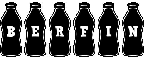 Berfin bottle logo