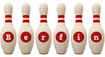 Berfin bowling-pin logo