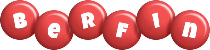Berfin candy-red logo
