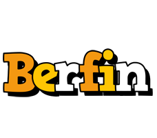 Berfin cartoon logo