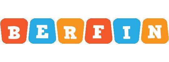 Berfin comics logo
