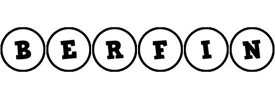 Berfin handy logo