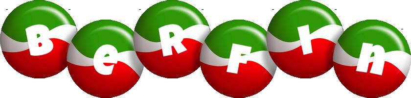 Berfin italy logo
