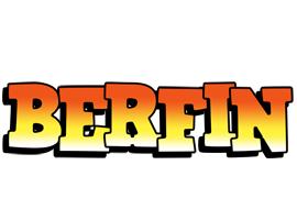 Berfin sunset logo
