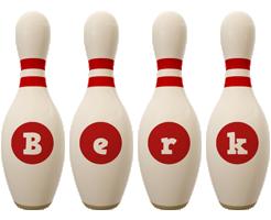 Berk bowling-pin logo