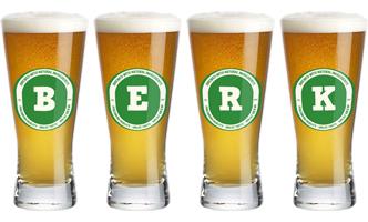 Berk lager logo