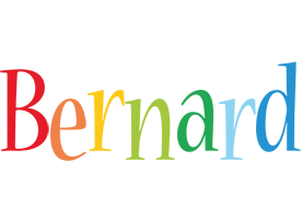 Bernard birthday logo