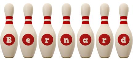 Bernard bowling-pin logo