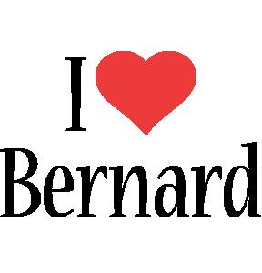 Bernard i-love logo