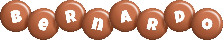 Bernardo candy-brown logo
