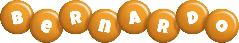 Bernardo candy-orange logo