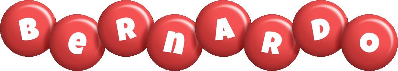 Bernardo candy-red logo
