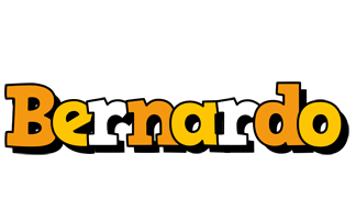 Bernardo cartoon logo