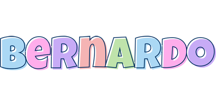 Bernardo pastel logo