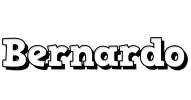 Bernardo snowing logo