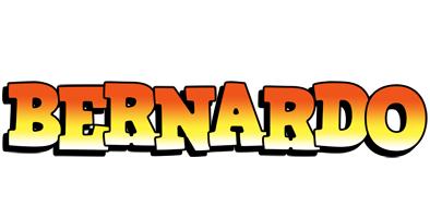 Bernardo sunset logo