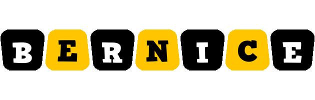 Bernice boots logo