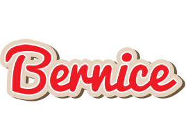 Bernice chocolate logo