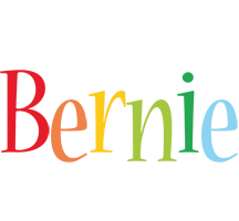 Bernie birthday logo