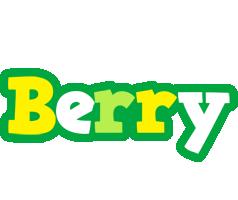 Berry soccer logo