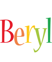 Beryl birthday logo