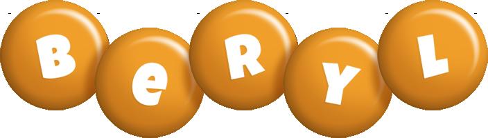 Beryl candy-orange logo