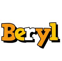 Beryl cartoon logo