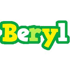 Beryl soccer logo