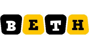 Beth boots logo