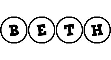 Beth handy logo