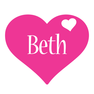 Beth love-heart logo