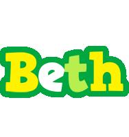 Beth soccer logo