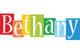 Bethany colors logo