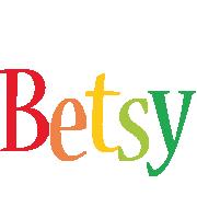 Betsy birthday logo
