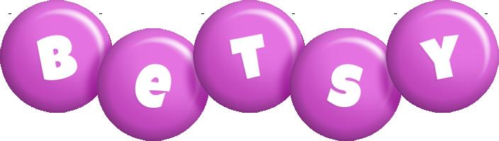 Betsy candy-purple logo