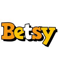Betsy cartoon logo