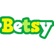Betsy soccer logo