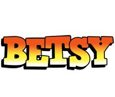 Betsy sunset logo