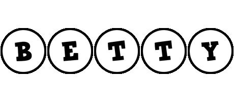 Betty handy logo