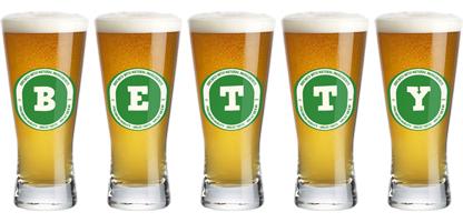 Betty lager logo