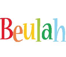 Beulah birthday logo