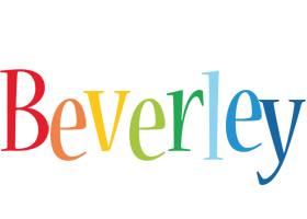 Beverley birthday logo