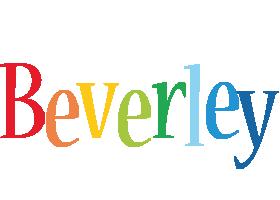 Beverley birthday logo