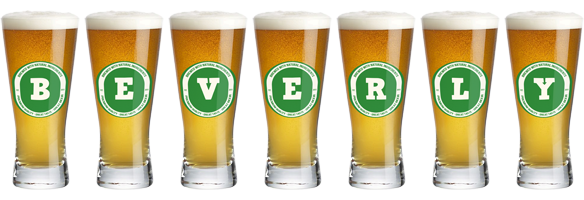 Beverly lager logo