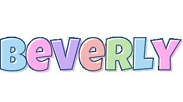 Beverly pastel logo