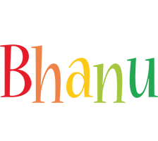 Bhanu birthday logo