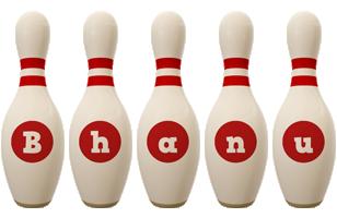 Bhanu bowling-pin logo