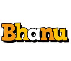 Bhanu cartoon logo