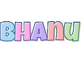 Bhanu pastel logo