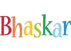 Bhaskar birthday logo